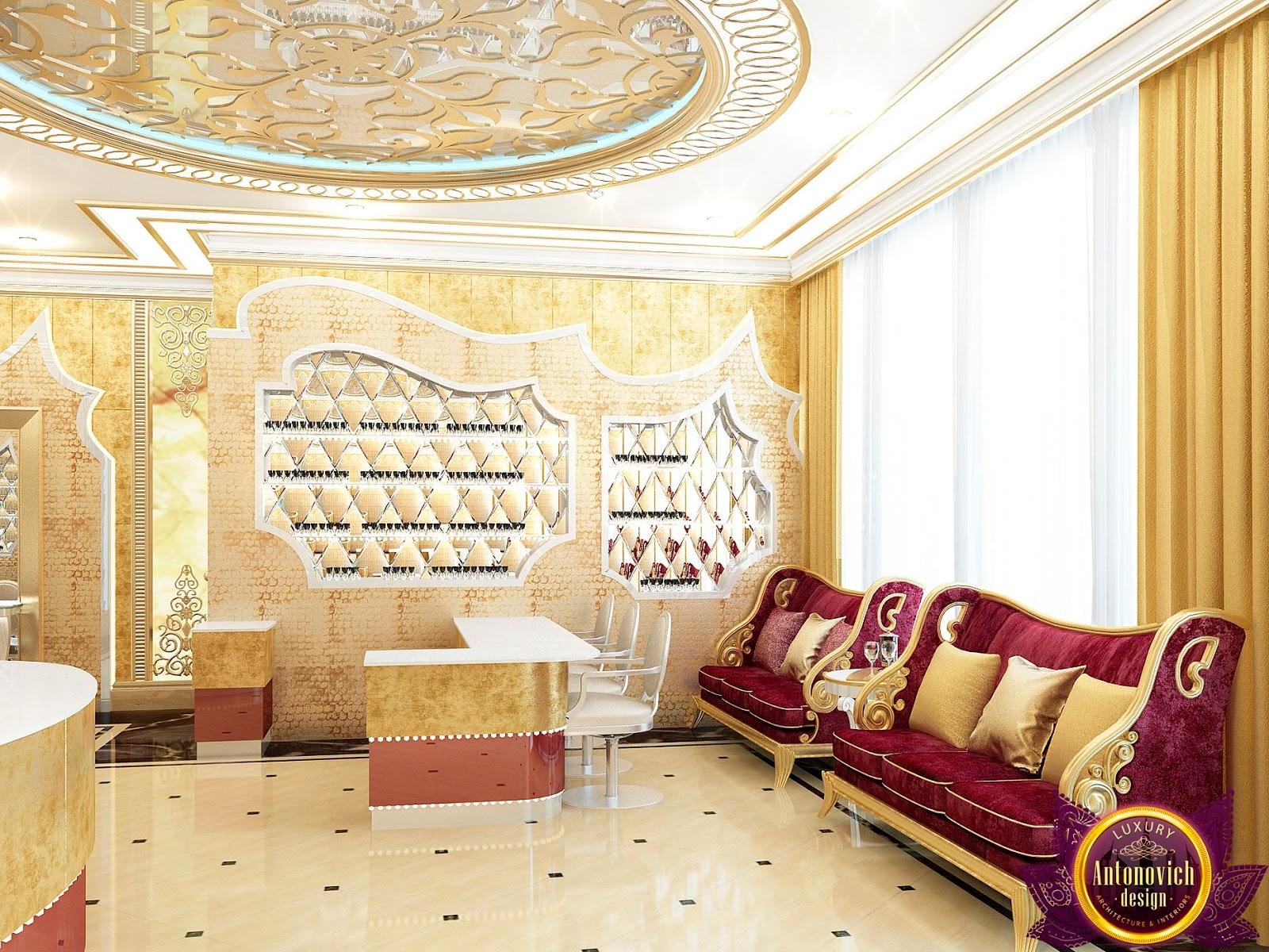 LUXURY ANTONOVICH DESIGN UAE: Beauty salon Design of Katrina Antonovich