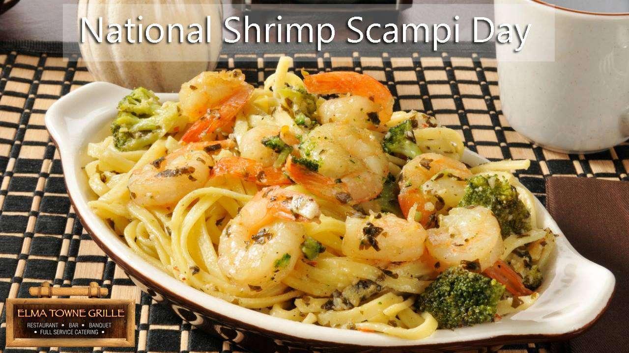 National Shrimp Scampi Day Wishes Unique Image