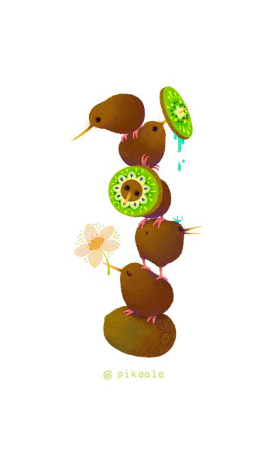 Kiwi and Kiwi fruits