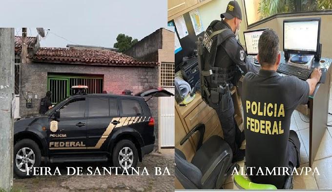 Polícia Federal deflagra Operações: Alarife em combate a fraudes ao seguro-desemprego, e Sesmarias para combater grilagem de terras no Pará.