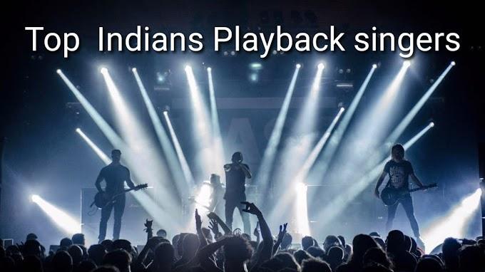 Top  Indians Playback singers-celebritiestv.co