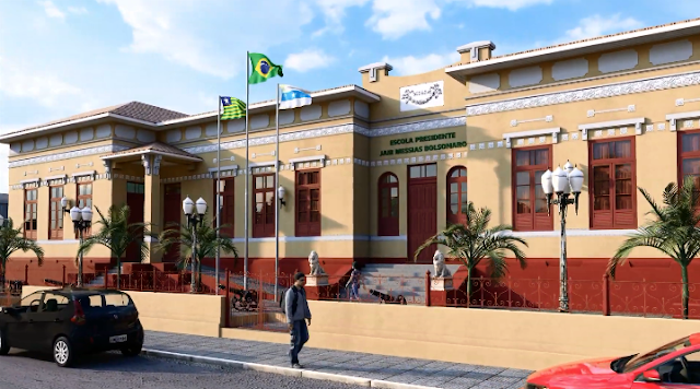 Resultado de imagem para Valdeci Cavalcante consegue o predio da escola Miranda Osório
