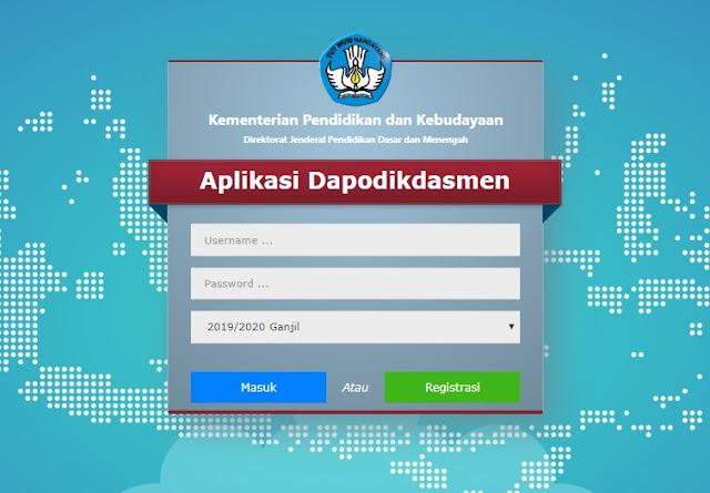 Cara Mengatasi Gagal Login Aplikasi Dapodik  SD:  Cara Mengatasi Gagal Login Aplikasi Dapodik 2020.a