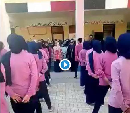 شاهد.. أغنية طالبات كفر الدوار خلال الكشافة تتصدر مواقع التواصل الاجتماعى