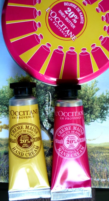 L'Occitane Collector Hand Cream Tin #loveloccitane #springenprovence Vanilla Rose French Beauty Brand