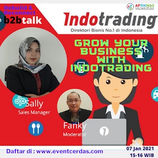 WEBINAR GROW YOUR BUSINESS WITH INDOTRADING - 7 JAN 2021