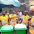 KWSG Environmental Task Force Distributes Waste Bins To Markets