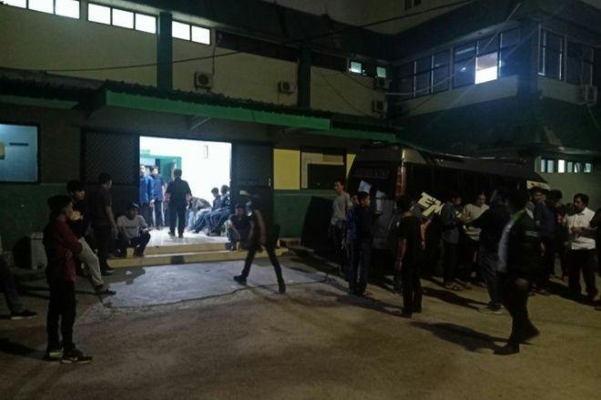 10 Orang Diamankan Polisi Terkait Soal Penyerangan Mahasiswa di UMI
