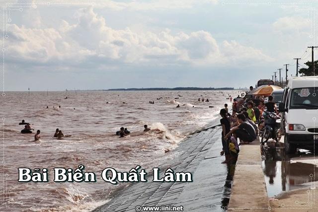 Bãi Biển Quất Lâm - Nam Định