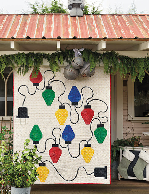 """A Lightbulb Moment"" Quilt By Thistle Thicket Studio. www.thistlethicketstudio.com"