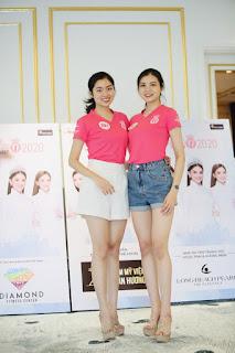 Hai cô gái học giỏi, quê lúa Thái Bình cùng vào Bán kết Hoa hậu Việt Nam 2020