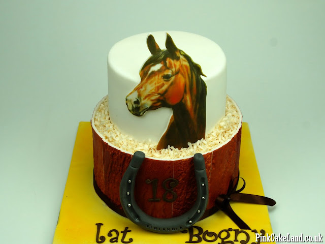 horse birthday cake london store