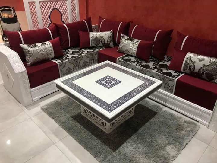 Salon Marocain Pas Cher Decoration Salon Moderne 2019 Haut