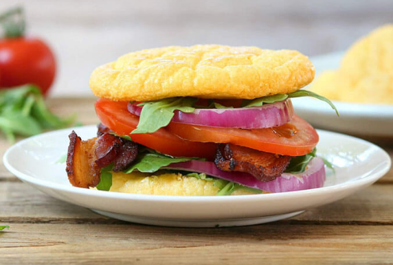 3-Ingredient Cloud Bread #3ingredient #dinner #healthylunch #food #cauliflower