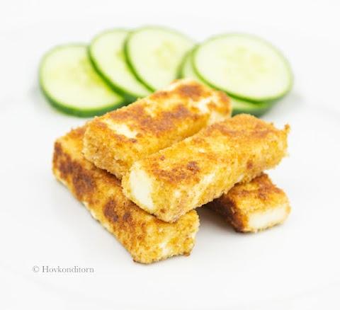 Stir-Fried Feta Cheese