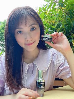 改善肌膚微循環 ~ Lancôme Génifique 小黑瓶及發光眼霜