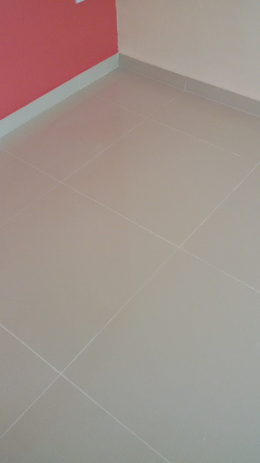 Ini Tiles Kat Ruang Tamu Kita Close Up Sikit Bagi Tengok Kekemasan Yang Dipasang