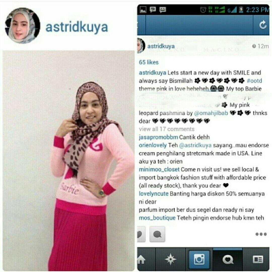 Caption Endorse Baju Di Ig Captionseru