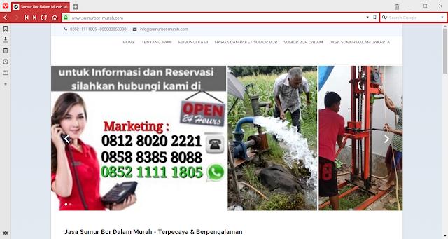 Web sumurbor-murah.com
