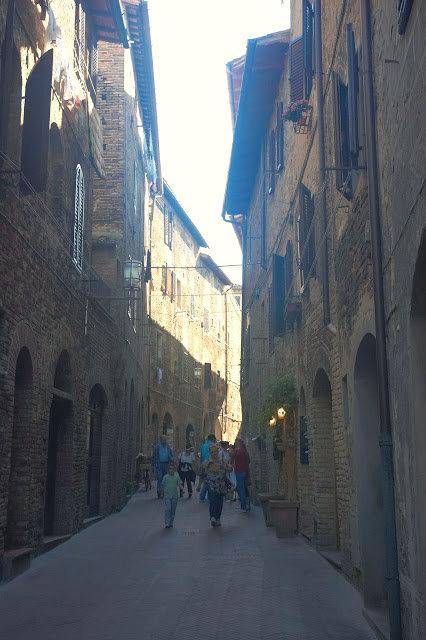 starówka miasta San Gimignano