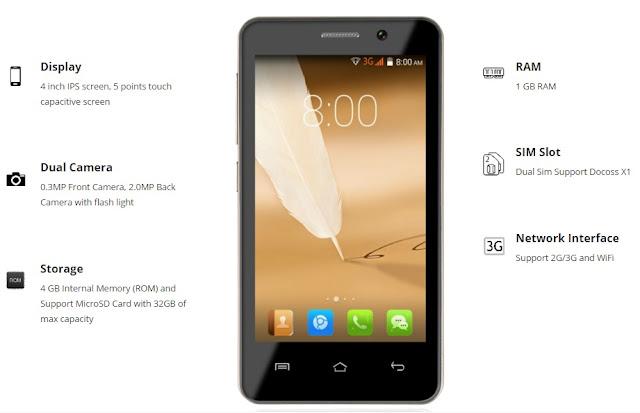 Docoss X1 Full Specifications & Price Details GSMARENA : Latest News & Rumors