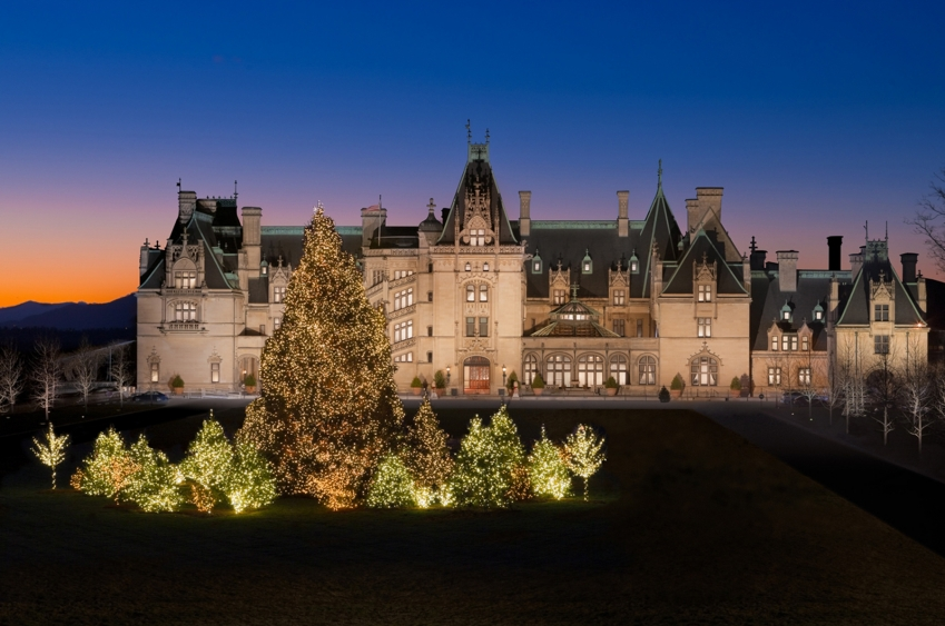 Christmas At Biltmore in Asheville, NC: What a First-Time Visitor Should Expect
