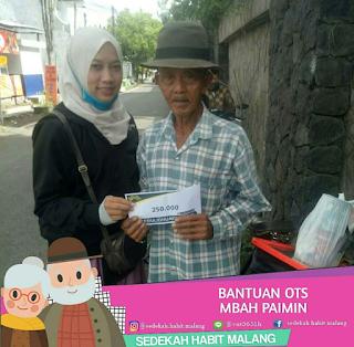 Mbah Paimin, Ibu Sri Chusaini, Mbah Painem, Mbah Joko : Bantuan OTS