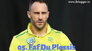 फाफ डु प्लेसिस (Faf du Plessis)