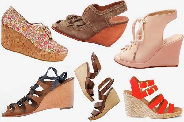 b793eaac41e9 Model Sandal Wedges. Sepintas model sendal ini mirip dengan sepatu hak  tinggi