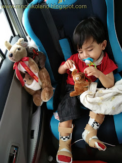 Haziq ng qin xuan, mild cerebral palsy, afo brace with hinge, playground, splint