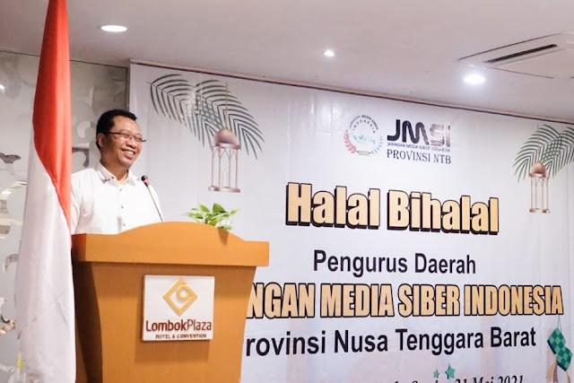 Gubernur NTB : Sebarkan informasi bermanfaat untuk kemajuan daerah