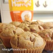 allergies muffins baking eggfree