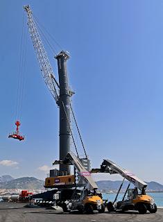 Salerno Container Terminal schiera tutti suoi nuovi mezzi