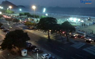 câmera ao vivo de copacabana