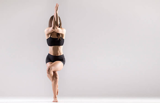 Eagle Pose  Yoga Steps and Benefits