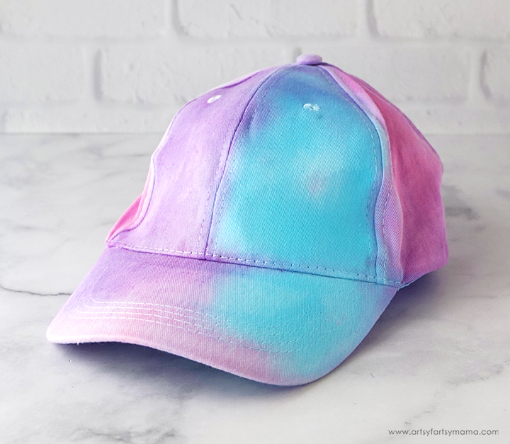 Blank Tie-Dyed Hat