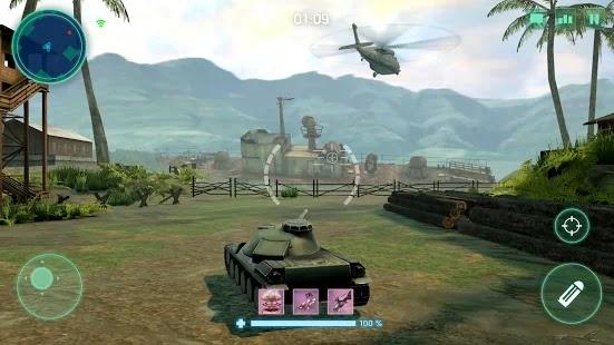 War Machines Tank Army Game Screenshot