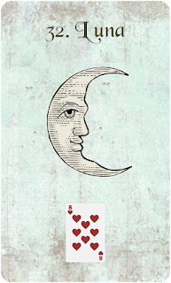 carta de lenormand 32 luna