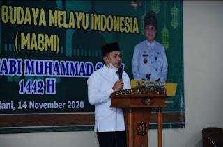 Bupati Batu Bara Hadiri Peringatan Maulid Nabi Muhammad SAW di Medan
