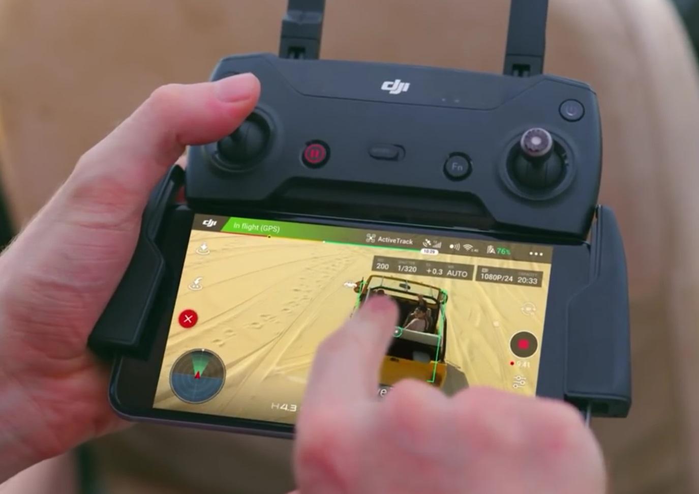 10 Fitur Canggih Yang di Miliki Drone Mini Dji Spark ...