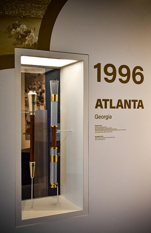 1996 Olympic & Paralympic Torches | Atlanta History Center | Photo: Travis Swann Taylor