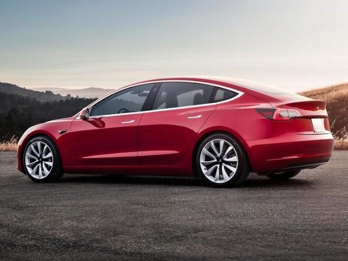 Tesla Model 3 test drive: its main characteristics