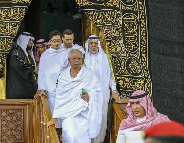 Najib Razak Masuk Kaabah #KekalNajib #BetterNation [GAMBAR DI MEKAH]