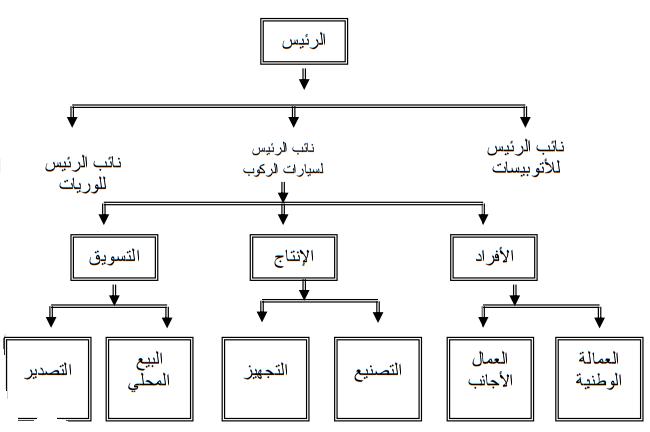 الهيكل التنظيمى المتعدد