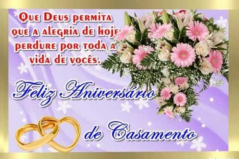 mensagem de aniversario de casamento linda