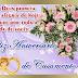 Mensagem para aniversario de casamento linda e delicada