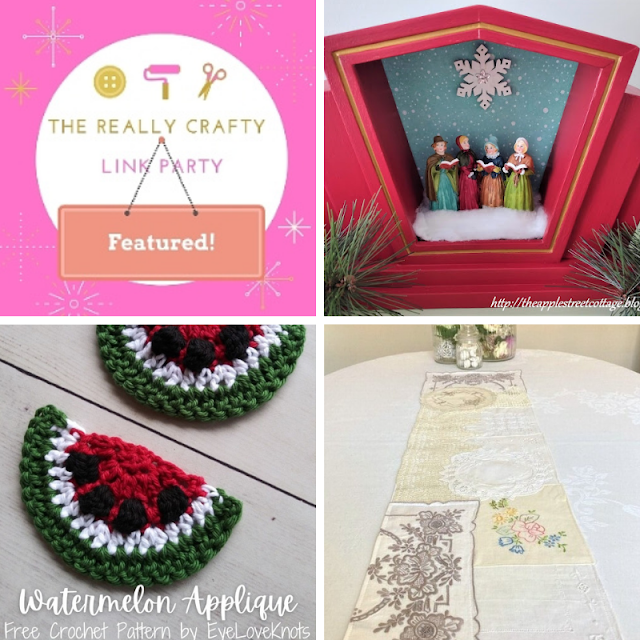 The Really Crafty Link Party #277 featured posts!