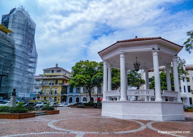 Praça da Catedral, no Casco Viejo da Cidade do Panamá