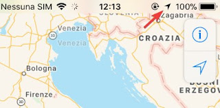 Icona GPS iPhone