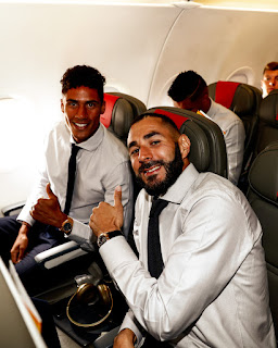 Pictures: Real Madrid Travels to Manchester ahead of Champions League encounter with City